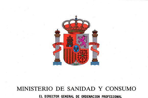 Ministerio de sanidad y consumo juan ignacio padr for Ministerio de consumo