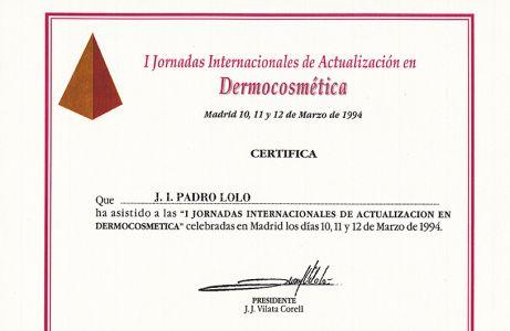 Jornadas internacionales de dermocosmética