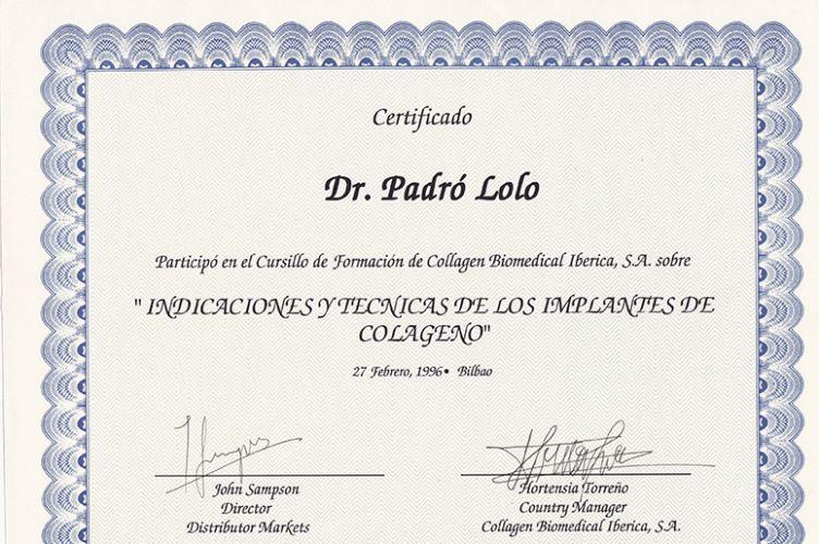 Indicaciones y técnicas de los implantes de colágeno