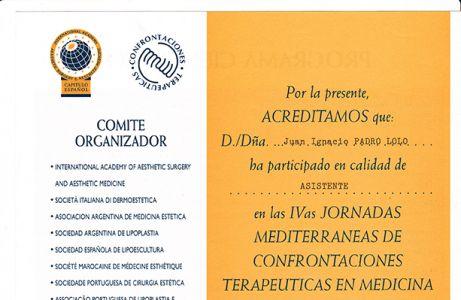 Confrontaciones terapéuticas en medicina y cirugía estéticas