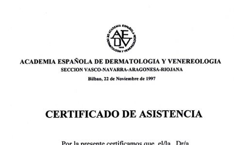 Academia española de dermatología y venereología