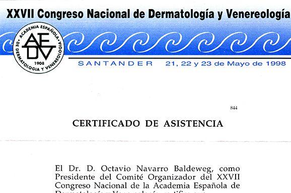 Congreso nacional de dermatología y venereología